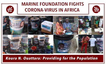 Marine Foundation Fights Corona-virus